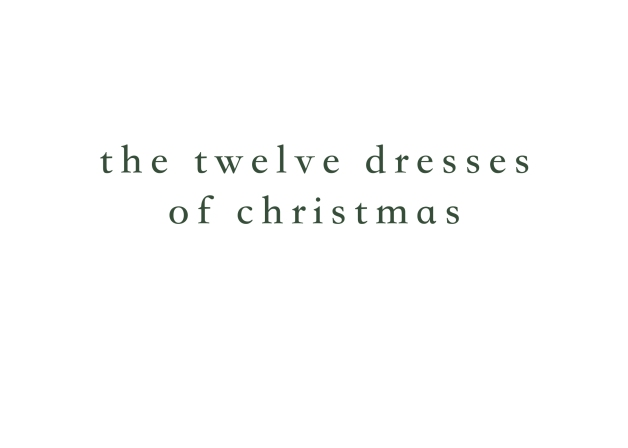 12dressesofchristmas
